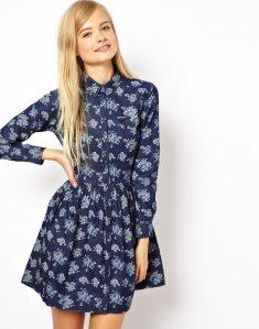 ASOS Chambray Shirt Dress - Copy