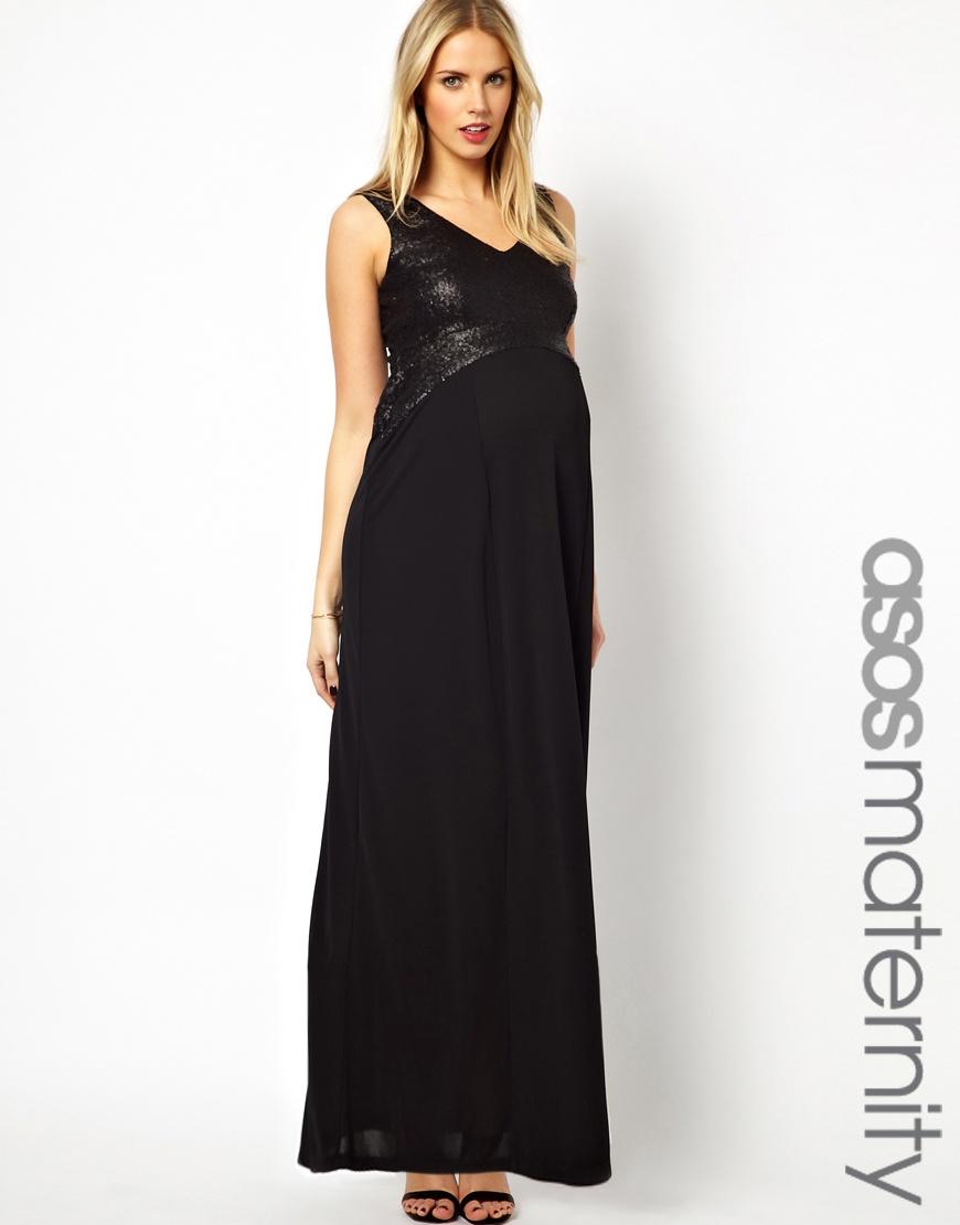 Maternity maxi available on asos.com, $58